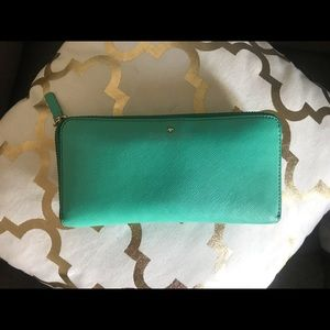 Kate Spade Thompson Street Lacey Wallet Turquoise